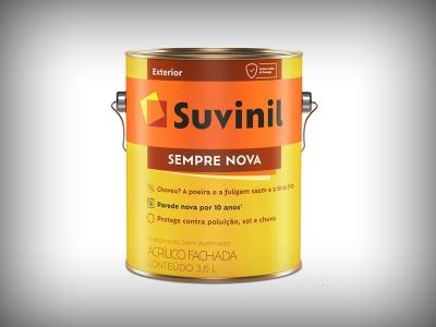 Tinta Acrílica Suvinil Sempre Nova - Cores - 3,6 litros
